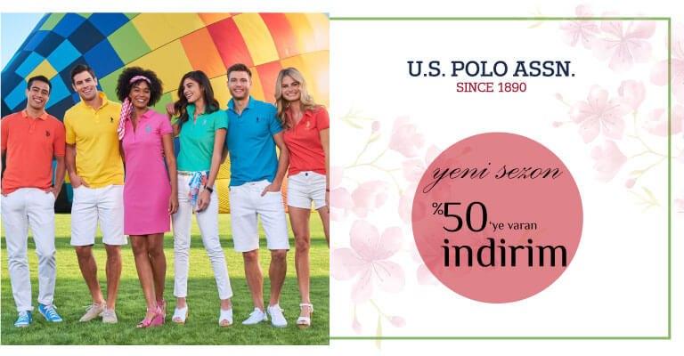 U.S. Polo Assn Yeni sezon indirimleri